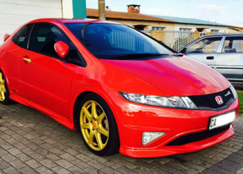 Red Honda Type R